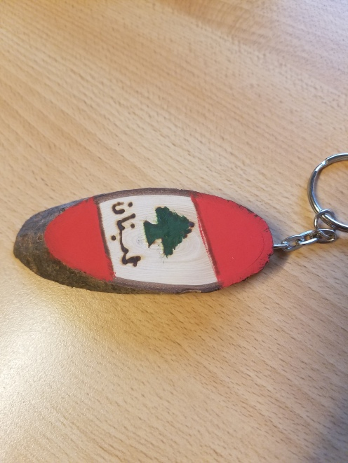 Made in Lebanon: a gift from my friend in my lab :-)